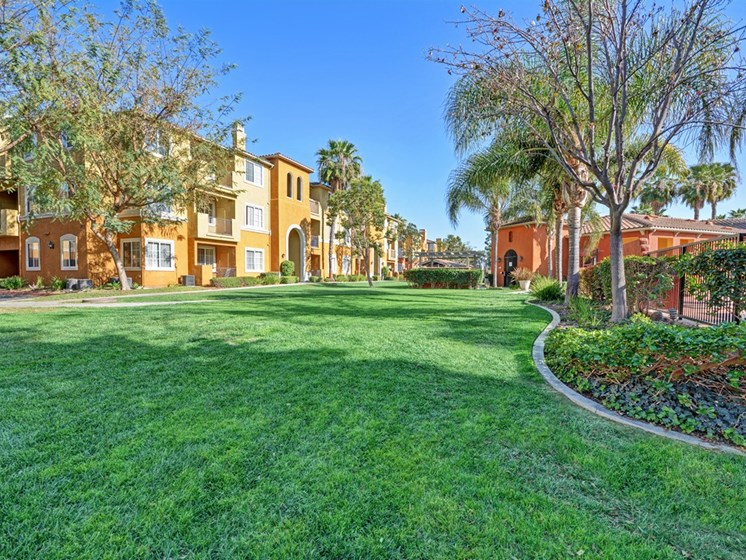 Beautifully Landscaped Grounds, at Missions at Sunbow Apartments, Chula Vistasaa, 91911