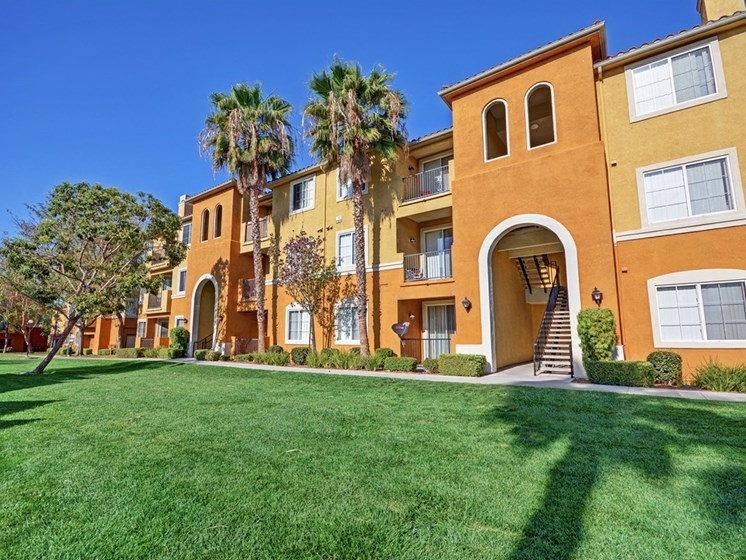 External Apartment View, at Missions at Sunbow Apartments, Chula Vista, California