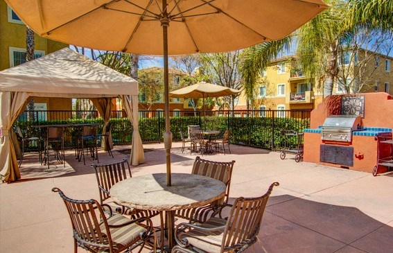 Outdoor Barbecue Grill and or Picnic Area, at Missions at Sunbow Apartments, Chula Vista, CA