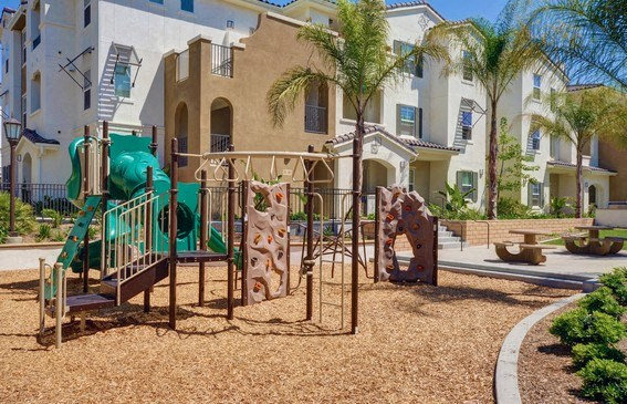 Children's Play Area, at Rosina Vista, Chula Vista, CA