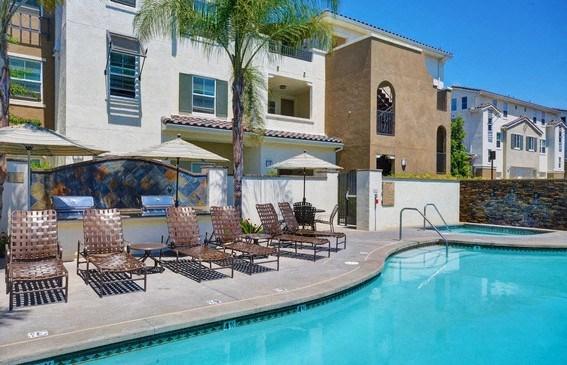 Upscale Lap and Lounge Swimming Pools, at Rosina Vista, 1551 Summerland Street