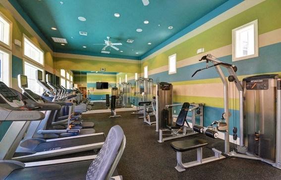 High-Tech Fitness Center, at Rosina Vista, Chula Vista, California