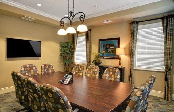 Conference Room with TV, at Rosina Vista, Chula Vista, CA