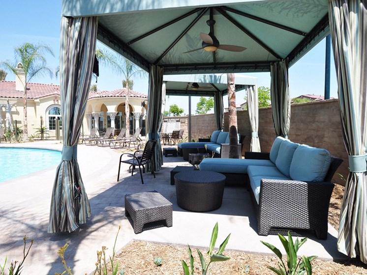 Poolside Cabana with Modern Amenities, at Tavera, 1465 Santa Victoria Rd