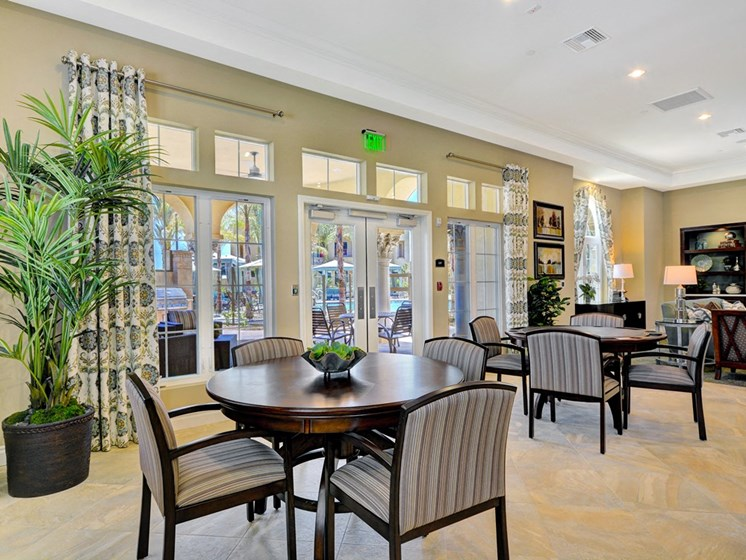Clubhouse with TV, Fireplace, and Kitchen, at Tavera, Chula Vista, 91913