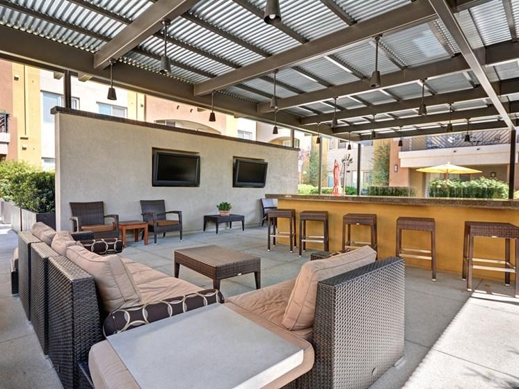 Outside Lounge