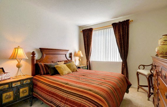 Live in Cozy Bedrooms, at Casoleil, San Diego, California