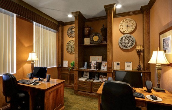 Fully Equipped Business Center, at Casoleil, CA, 92154