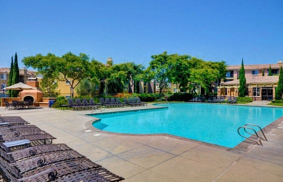Upscale Lap and Lounge Swimming Pool, at Casoleil, CA, 92154