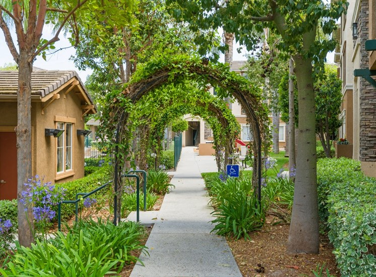 Green Spaces With Mature Trees at Terra Vista, California