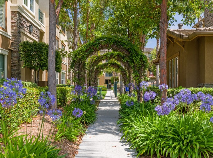 Greenspace Walking Trails at Terra Vista, California
