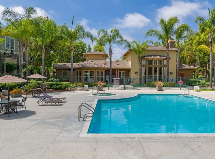 Relaxing Swimming Pool With Sundeck at Terra Vista, Chula Vista, CA