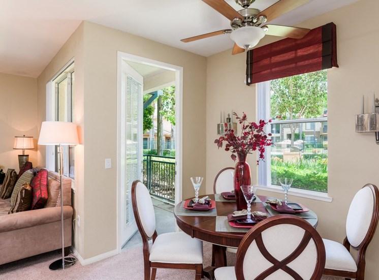 Living Room Come Dining Area at Terra Vista, Chula Vista, CA