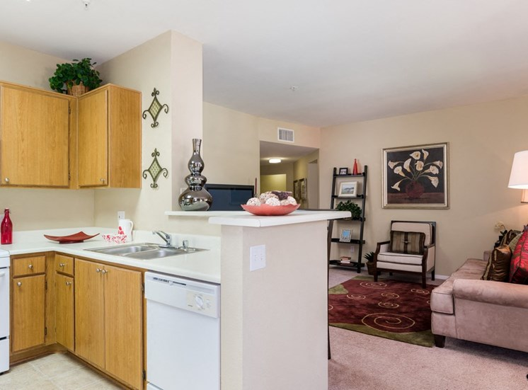 Kitchens With Ample Storage at Terra Vista, California