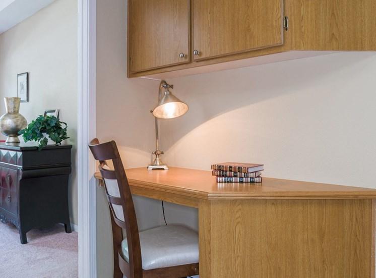 Solid Wooden Table at Terra Vista, California
