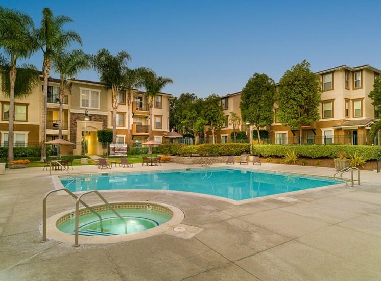 Hot Tub And Swimming Pool at Terra Vista, California, 91913