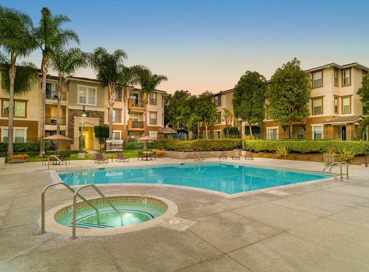 Hot Tub And Pool at Terra Vista, Chula Vista, CA, 91913