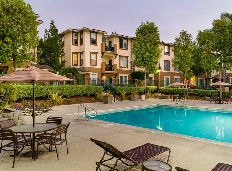 Poolside Sundeck With Relaxing Chairs at Terra Vista, Chula Vista, CA