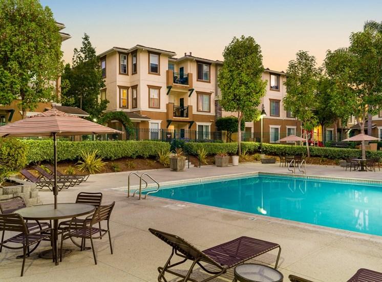 Swimming Pool With Relaxing Sundecks at Terra Vista, Chula Vista, California