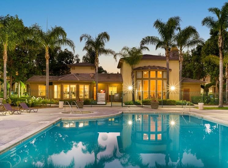 Swimming Pool And Relaxing Area at Terra Vista, California