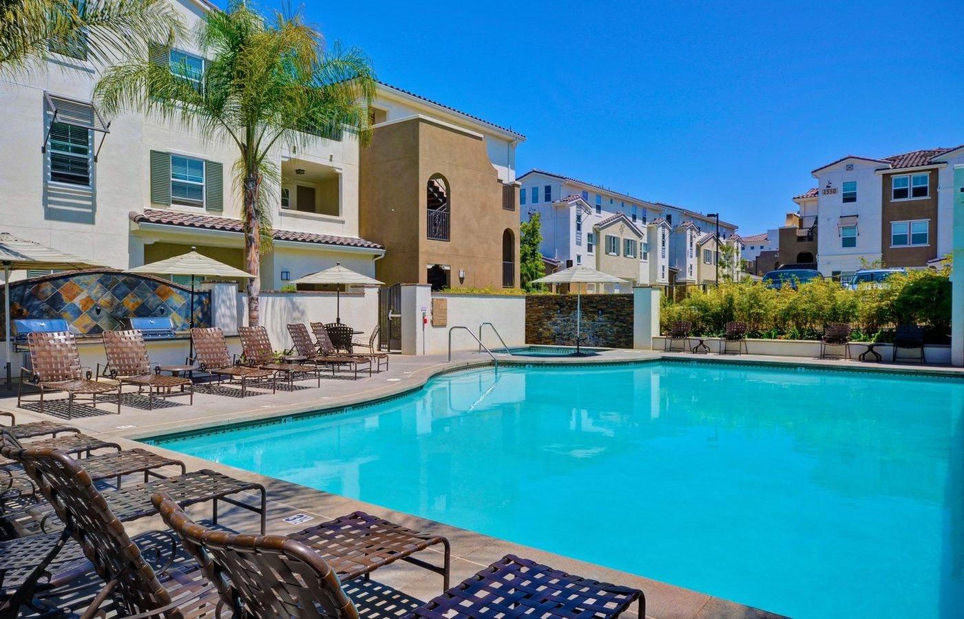 Resort Style Pool and Hot Tub, at Rosina Vista, Chula Vista, 91913