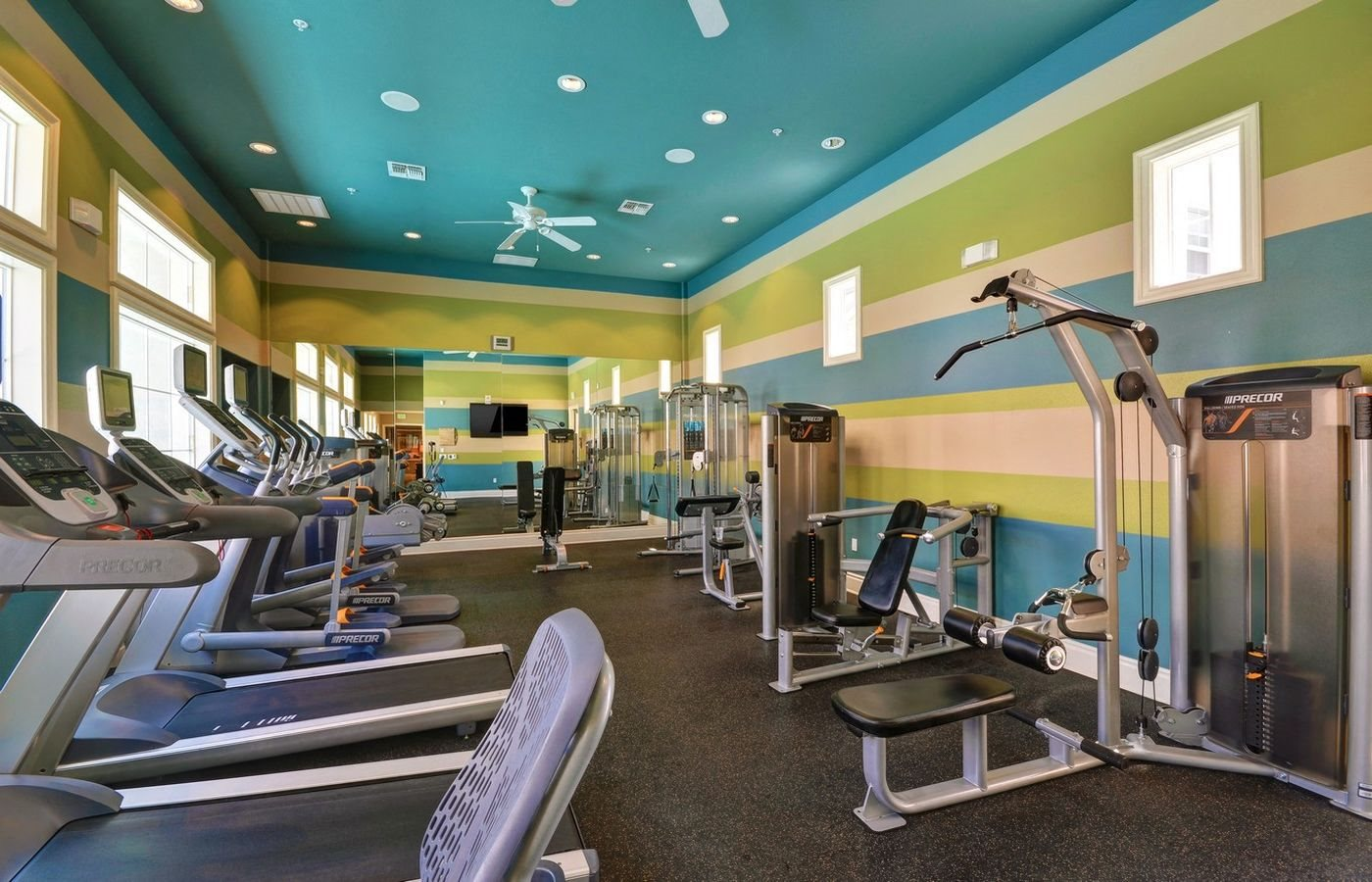 Fitness Center with State of the Art Precor Equipment, at Rosina Vista, 1551 Summerland Street, CA