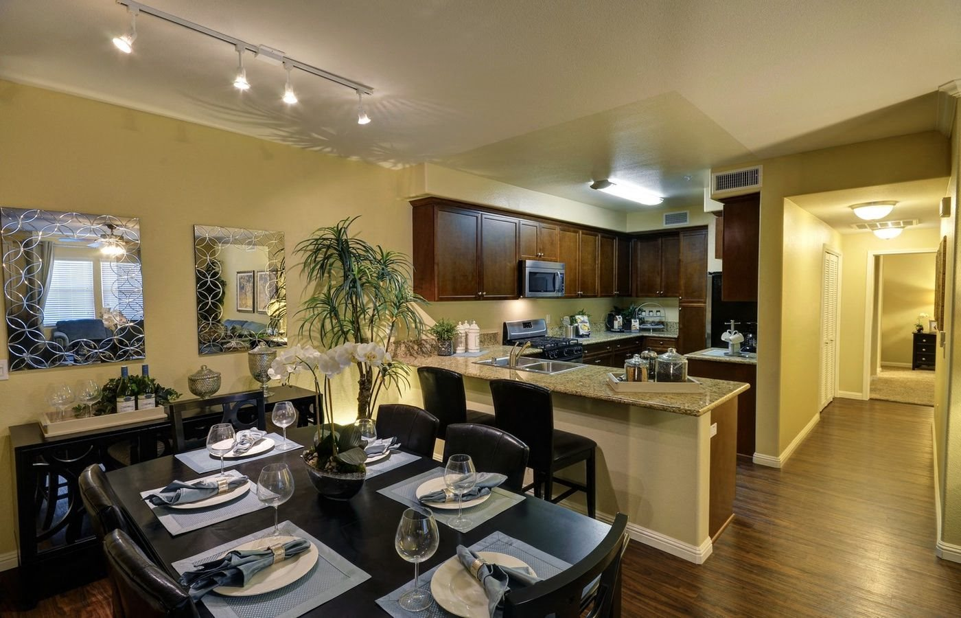 Gourmet Kitchens with Separate Dining Area, at Rosina Vista, Chula Vista, California