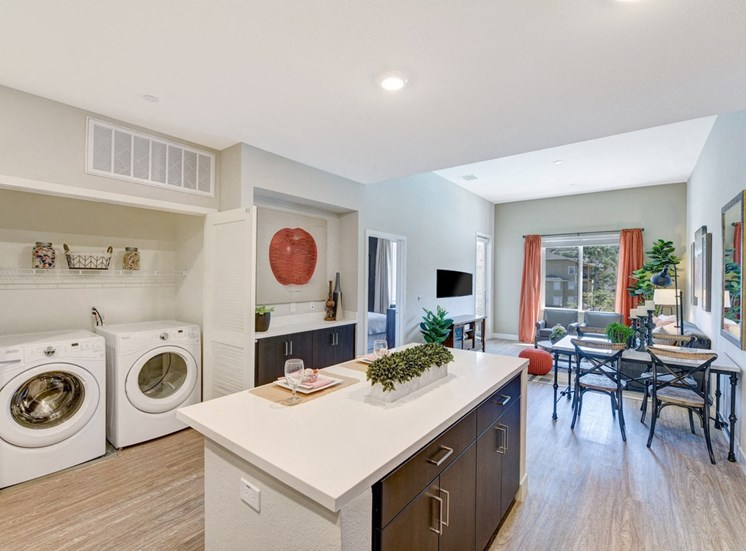 Dining and Laundry