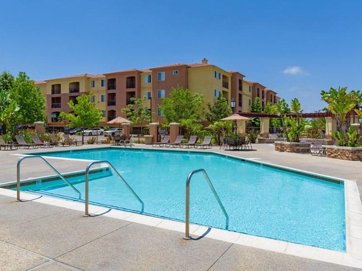 Resort Style Swimming Pool, at Greenfield Village, San Diego, California
