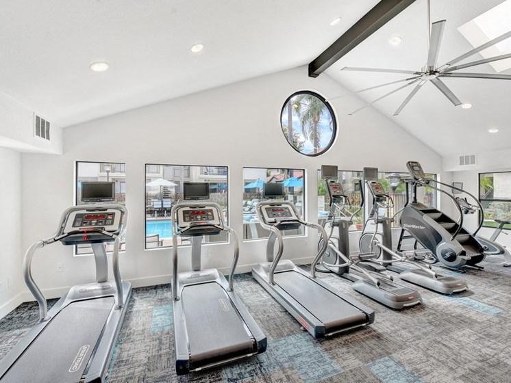 Treadmills  at Altair, Escondido, CA