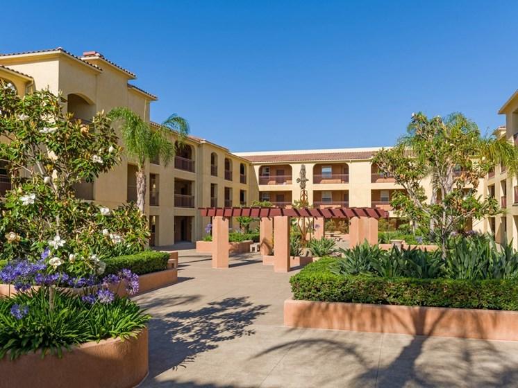 Beautiful Garden Setting, at Greenfield Village, California, 92154