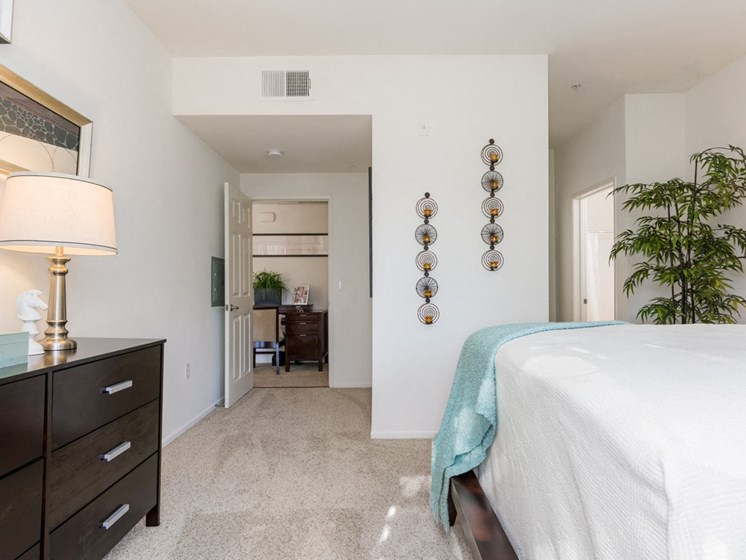 Comfortable Bedroom With Accessible Closet, at Greenfield Village, 5540 Ocean Gate Lane, CA
