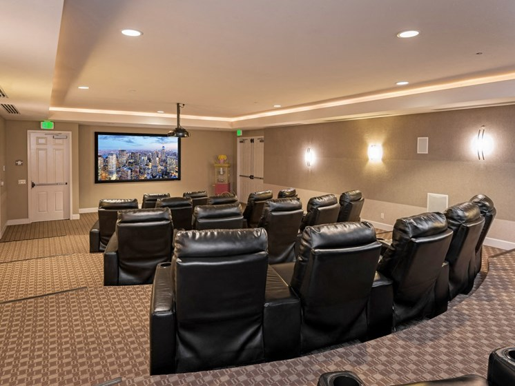 Beautifully Appointed Movie Room at Greenfield Village, San Diego, 92154