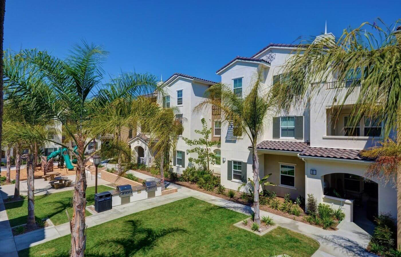 Beautifully Landscaped Grounds, at Rosina Vista, Chula Vista, CA