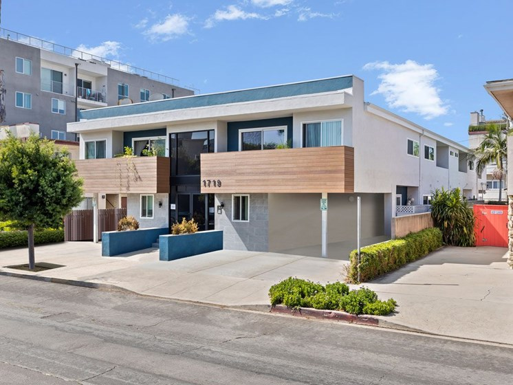 Property Exterior Street View for Federal Ave Apartments in Sawtelle, California