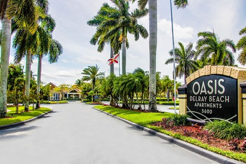Oasis Delray Beach Apartments | Access Controlled Community