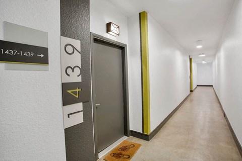 Uptown Square| Apartment Hallway