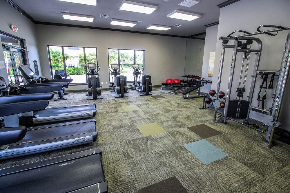 Oasis Delray Beach Apartments |Fully Equipped Fitness Center