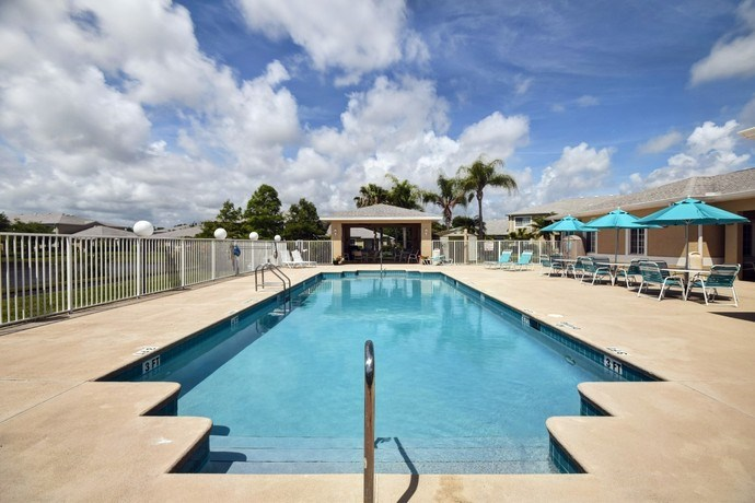Swimming Pool With Sundeck at River Park Place Apartments, Vero Beach, 32962