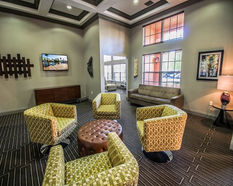 New River Cove Apartments | Resort Style Clubhouse