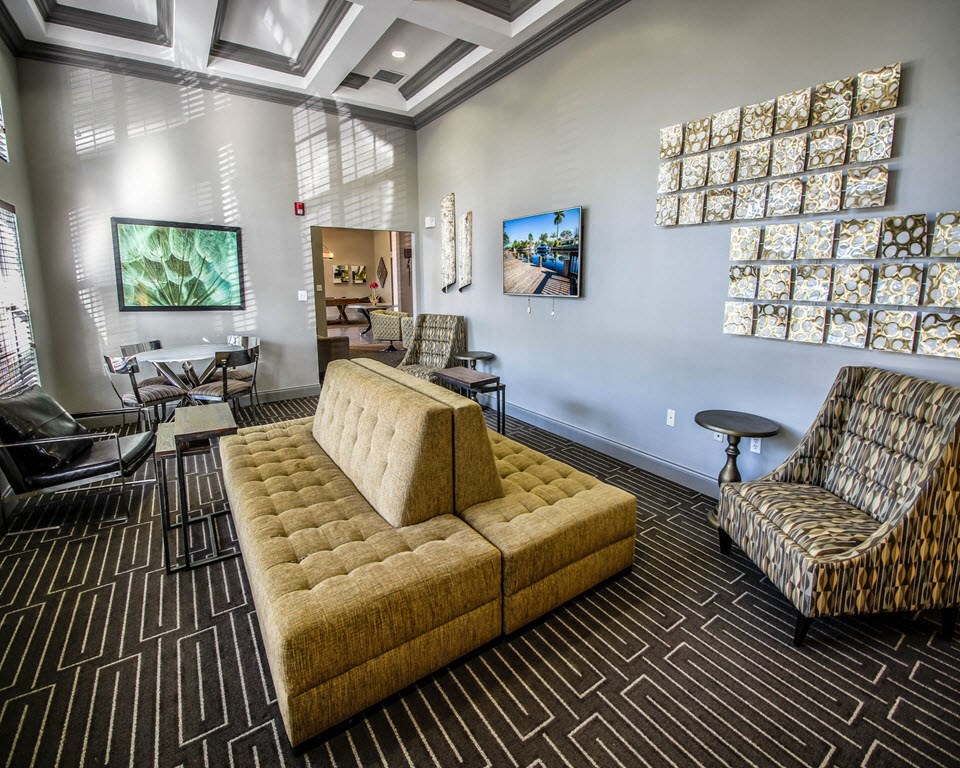 New River Cove Apartments | Lavish Resident Clubhouse