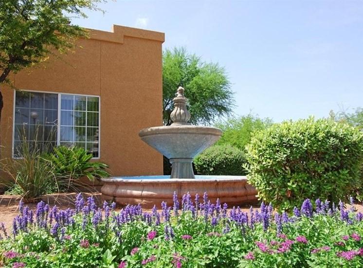 Courtyard Water Fountain