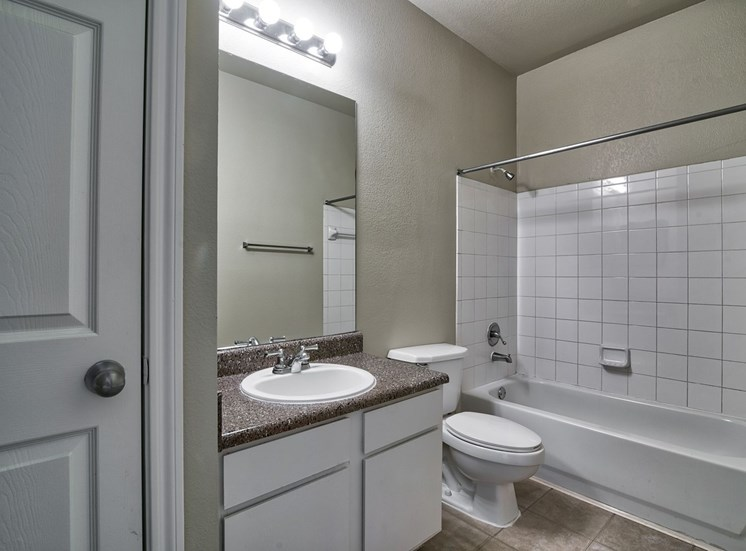 Bathroom with Vanity Lights