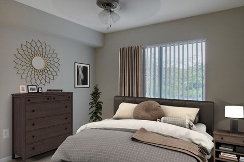 New River Cove Apartments | Master Bedroom