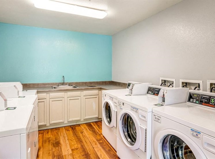 Clothing Care Center with Washers and Dryers