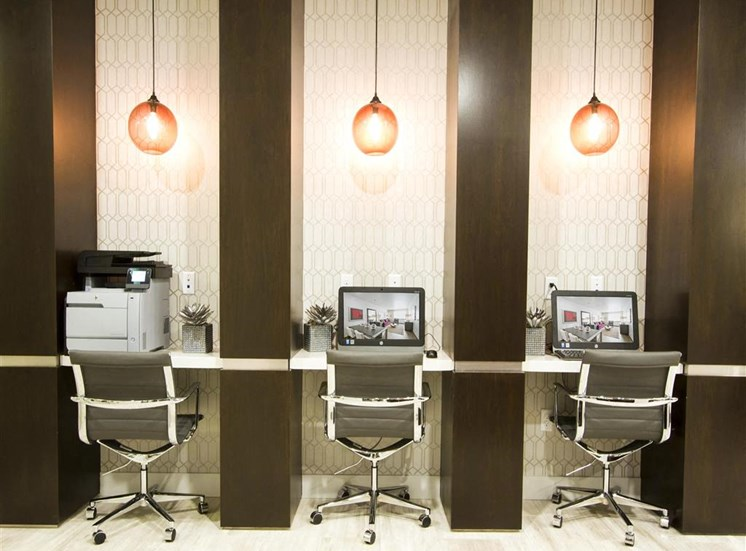 Via Apartments | Business Center