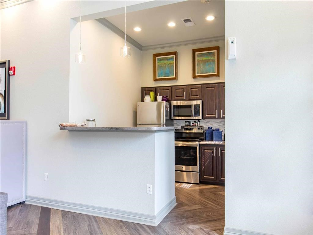 The Village at Legacy Ridge Apartments   Clubhouse with Kitchen
