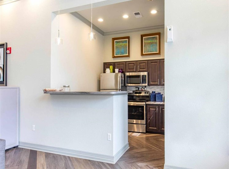 The Village at Legacy Ridge Apartments | Clubhouse with Kitchen