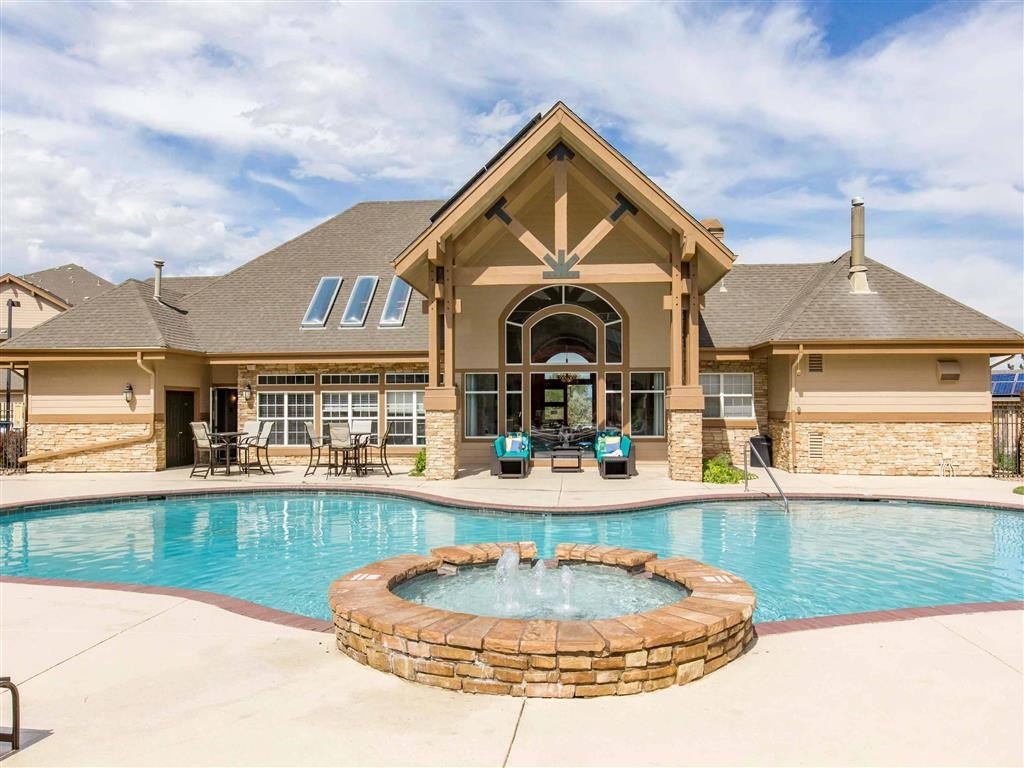 The Village at Legacy Ridge Apartments   Swimming Pool and Spa