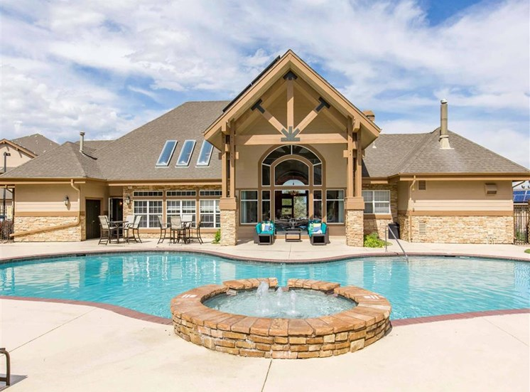 The Village at Legacy Ridge Apartments | Swimming Pool and Spa